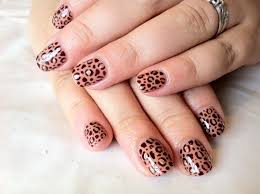 shellac nails nail art designs