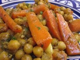 cuisiner pois chiches tajine de carottes et pois chiches au thermomix recette thermomix
