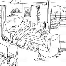 Living Room Architecture Drawing Living Room Drawing How To Draw A Room With Perspective Drawing
