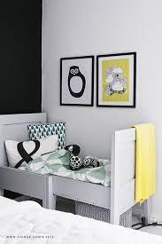 chambre fille noir et blanc inspiration une chambre d enfant en noir et blanc pour ma douceur