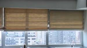 motorized roman shades nyc installation of roman motorized