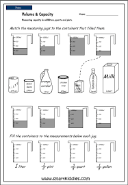 free worksheets capacity worksheets kindergarten free math