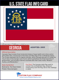 Georgia Flag Happy Birthday Georgia U2014 Custom Flag Company