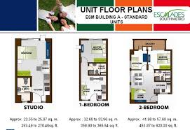 32 Sq M To Sq Ft Escalades South Metro Rent To Own Condo In Sucat Muntinlupa
