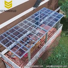 Veranda Patio Cover Prefab Patio Cover Custom Aluminum Sunnshield Porch Cover