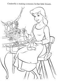 cinderella coloring pages colouring pinterest cenicienta