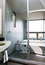 david baker architects kayo house the master bath incorporates a combined tub shower and steam room