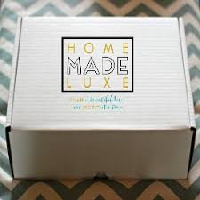 home decor subscription box home made luxe