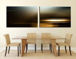 Dining Room Prints 2 Large Pictures Abstract Canvas Abstract Multi