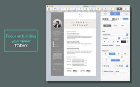apple pages resume templates resume cv templates for pages on the mac app