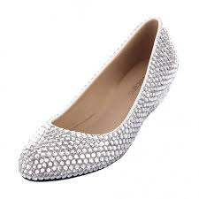 wedding shoes low wedges velcans velcans sparkly silver rhinestone
