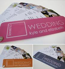wedding program printing 15 creative wedding program ideas bridalguide
