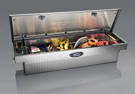 tool boxes ford trucks oem ford f series single lid crossover tool box by delta