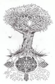 celtic knot with tree of design idea golfian com