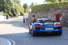 koenigsegg vancouver supercars in ascona during euro sportcars day 918 spyder 8c