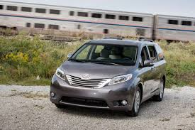 toyota minivan 2017 toyota sienna our review cars com