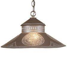 Punched Tin Pendant Light Punched Tin Pendant Light Large Chisel Pattern Ceiling Light In