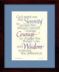 serenity prayer picture frame serenity prayer print serenity prayer framed god grant me