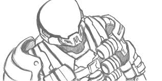 how to draw a halo helmet step by step best helmet 2017