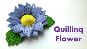 tutorial quilling flower quilling flowers tutorial how to make quilling 3d flower 3d