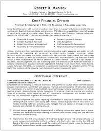 cfo resume exles resume sle of cfo krida info
