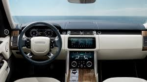 original range rover interior 2017 range rover autobiography interior 4k wallpaper hd car