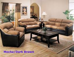 warm brown cherry 3 piece occasional table set by coaster 701508