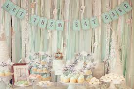 bridal shower decorations ideas of bridal shower decorating with tulle weddingelation