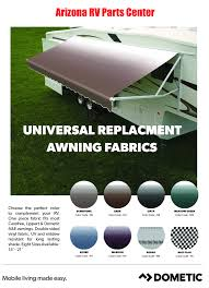 Sunchaser Replacement Awning Fabric Dometic Awning Fabrics