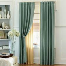 Turquoise Curtain Rod Desperate For Curtain Rod Placement Advice