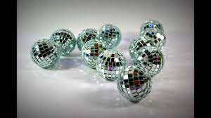 Ball Table Decorations Silver Mini Disco Balls Idea Table Decorations Wedding