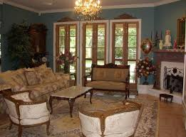 french country living room furniture cool view white window blue