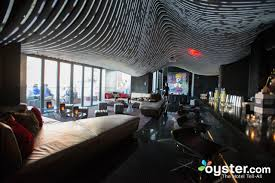 The Living Room Lounge by Living Room Bar And Terrace At The W New York Downtown Oyster Com