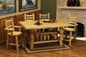 Log Dining Room Table Log Kitchen Table Topic Related To Log Furniture Dining Table And