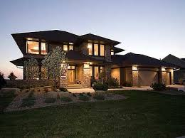 prairie style homes 41 best floorplans elevations images on future house