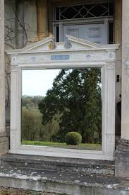 Adam Style House Outstanding C19th English Country House Architectural Mirror In
