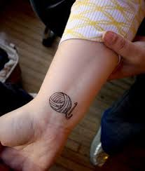 yarn ball tattoo knitting is awesome