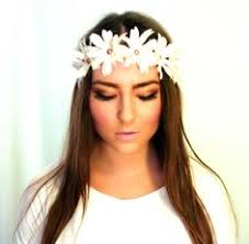 hippie flower headbands summer hippie flower headband necessary accessories
