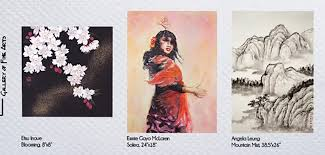 three asian canadian artists present their signature watercolour