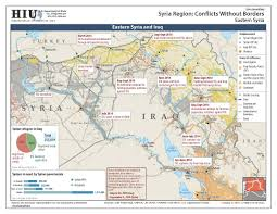 Syria Conflict Map by U S State Department Iraq Syria Conflict Without Borders Map