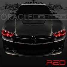 halo lights for 2013 dodge charger 2011 2014 dodge charger oracle led headlight halo kit 4 rings