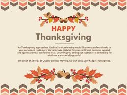 i wish you a happy thanksgiving qsmoving qsmoving twitter