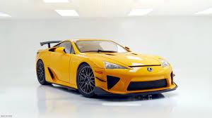 lexus lfa yellow one eighteen lexus lfa nurburgring package