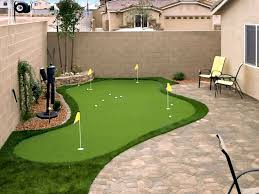 Backyard Ideas Pinterest Best 25 Backyard Putting Green Ideas On Pinterest Outdoor