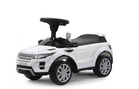 land rover evoque black and white push car land rover evoque white jamara shop