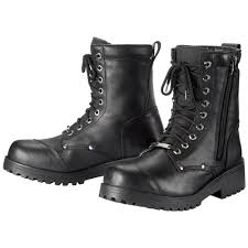 biker riding boots men s leather motorcycle boots