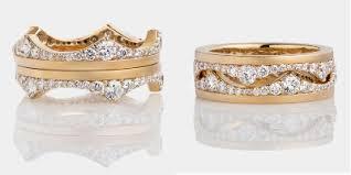 crown wedding rings crown wedding rings 3 looks in 2 rings engagement 101