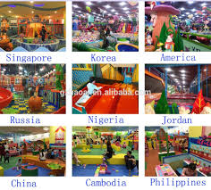 a 15229 funny shopping mall games for kids equipment big slides