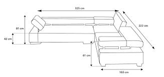 dimensions canapé dimensions canape d angle dimensions de votre canap d 39 angle