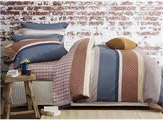 european style plaid jacquard 4 piece duvet cover sets european